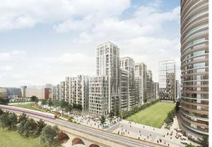 Go-ahead for 1,465 new homes at White City