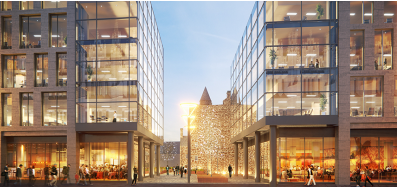 Morgan Sindall starts work on Aberdeen city development
