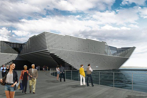 BAM signs the V&A Museum of Design Dundee contract