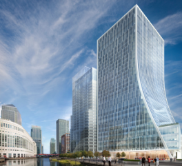 Canary Wharf wins planning for two office towers