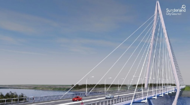 Sunderland Wear Crossing gets go-ahead